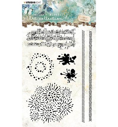 Studio Light - Jenine's Mindful Art Collection - Clearstamp A6 - 03