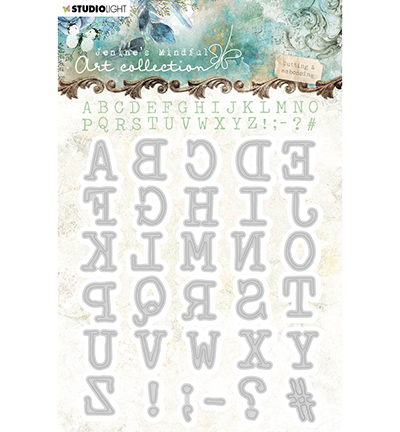 Studio Light - Jenine's Mindful Art Collection - Stansmal - Alphabet - 02