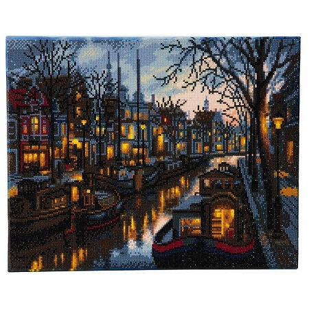 Diamond Painting - Canal Life - 40 x 50 cm