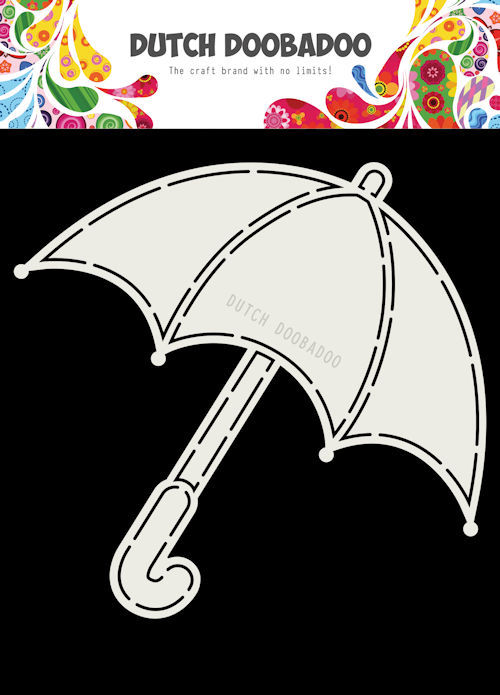 Dutch Doobadoo - Dutch Card Art - A5 Umbrella / Paraplu