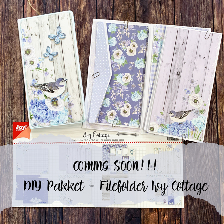 DIY Pakket - Filefolder album Cottage Ivy