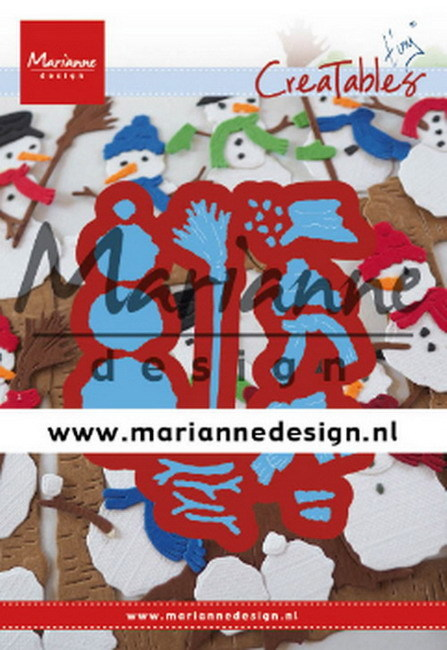 Marianne Design - Creatable - Tiny's Frosty Snowmen