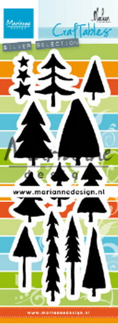 Marianne Design - Craftable - Trees by Marleen