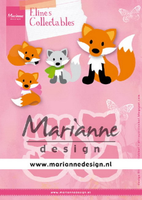 Marianne Design - Collectable - Eline's Cute Fox
