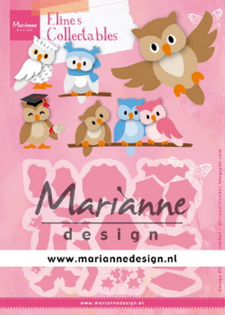 Marianne Design - Collectable - Eline's Owl