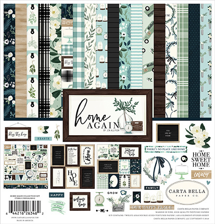 Carta Bella - Home Again - 30,5 x 30,5 Collection Kit