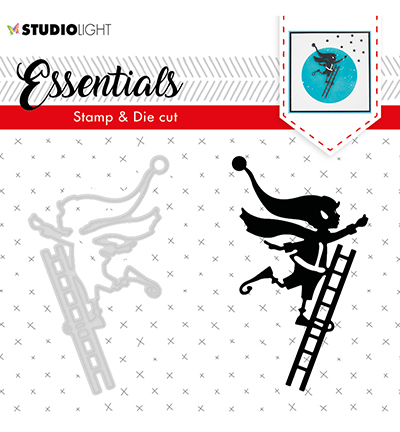 Studio Light - Stamp & Die Cut Set - Essentials - Christmas Silhouettes nr 35