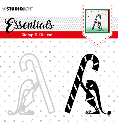 Studio Light - Stamp & Die Cut Set - Essentials - Christmas Silhouettes nr 33