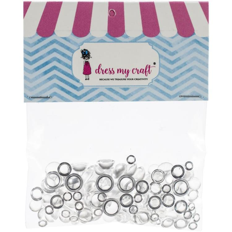 Dress My Crafts - Water Droplet Embellishments (150/Pkg)