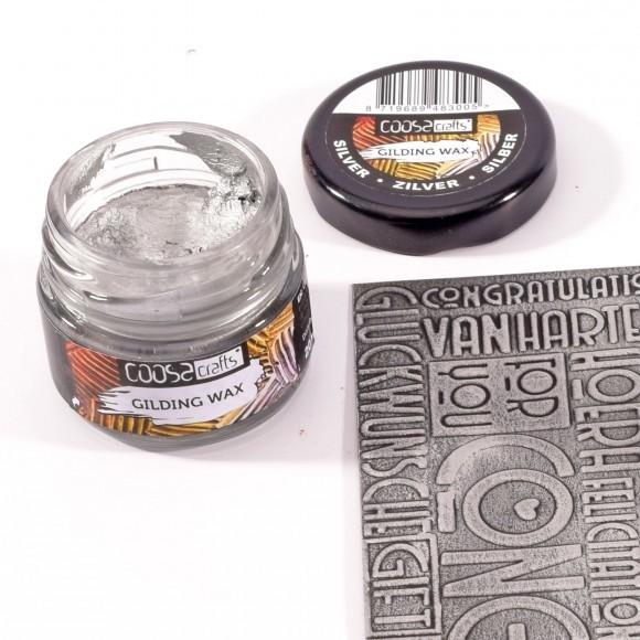 COOSA Crafts - Gilding Wax - Zilver