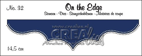Stansmal Crealies - On the Edge - no 32
