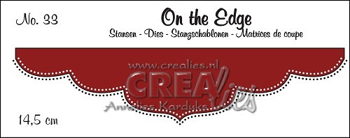 Stansmal Crealies - On the Edge - no 33