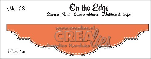 Stansmal Crealies - On the Edge - no 28