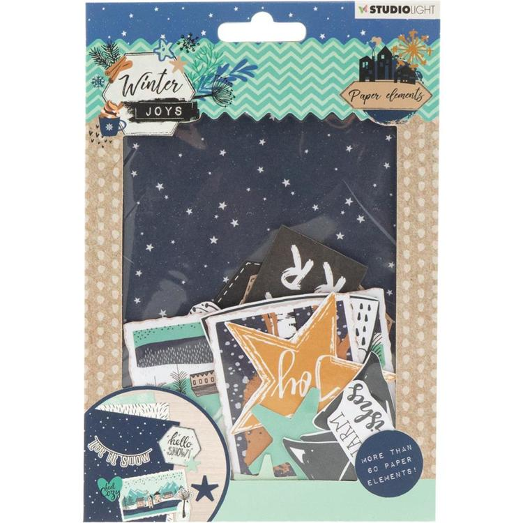 Studio Light - Winter Joys - Die Cut Paper Set - Nr 657