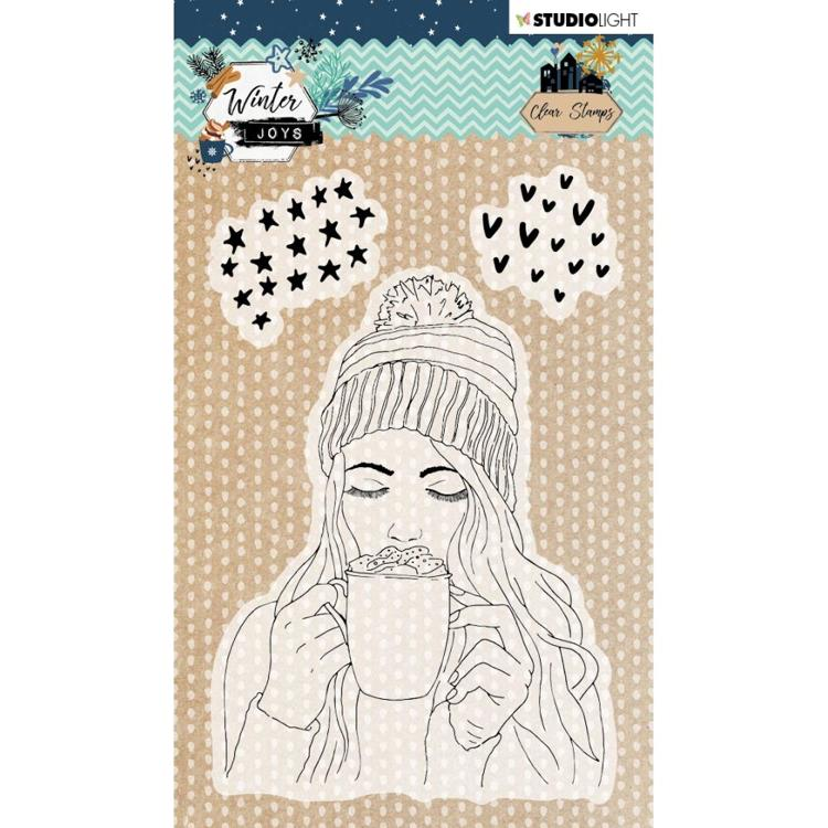 Studio Light - Winter Joys - Stamp A6 - Nr 420