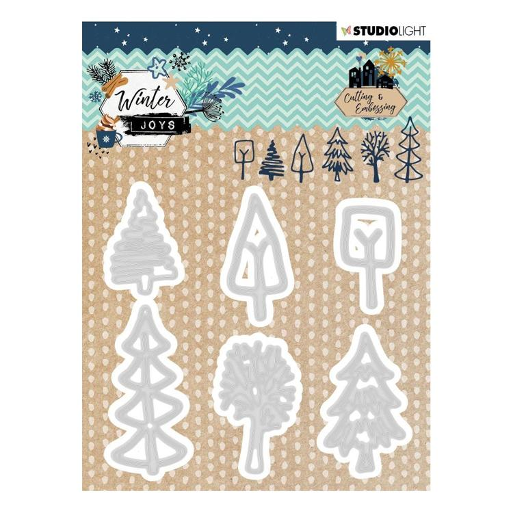 Studio Light - Winter Joys - Embossing Die - Nr 227