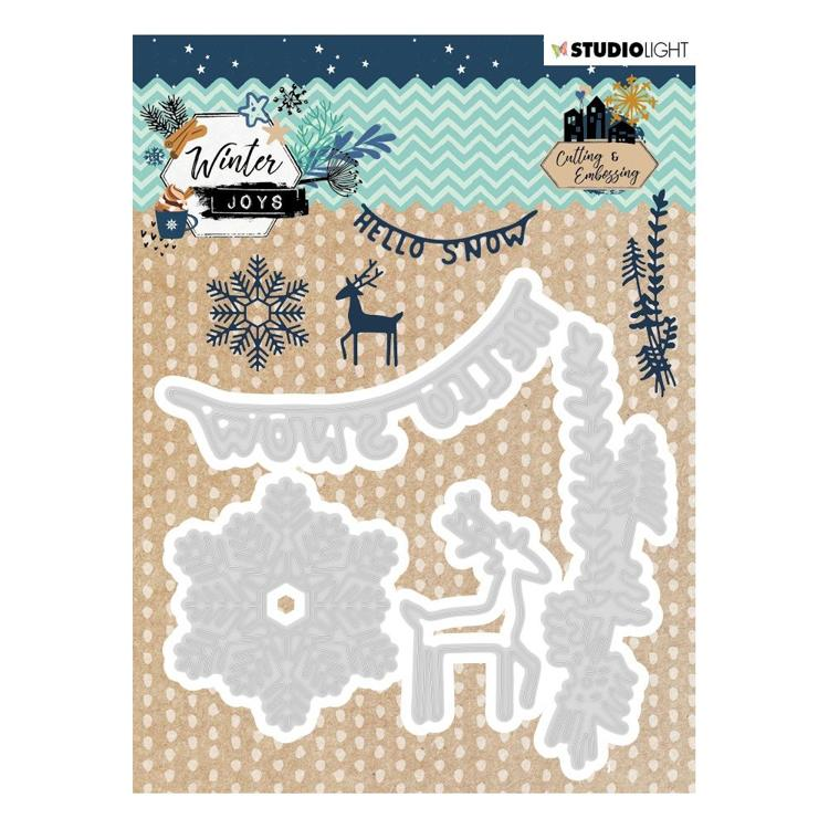 Studio Light - Winter Joys - Embossing Die - Nr 229