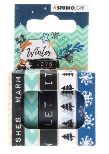 Studio Light - Winter Joys - Washi Tape 5 rollen - Nr 05