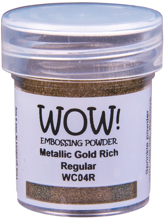 WOW Embossingpoeder - Metallic Gold Rich - Regular