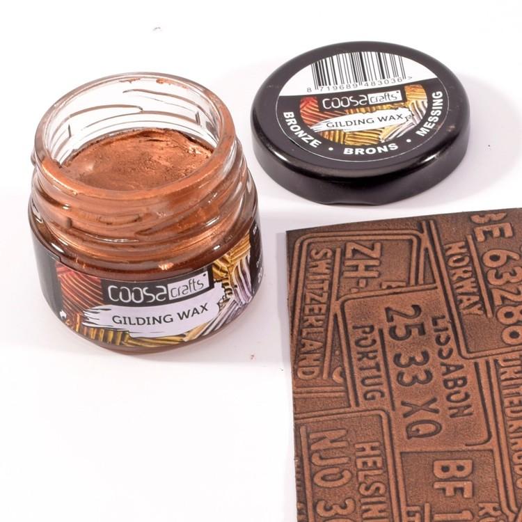 COOSA Crafts - Gilding Wax - Brons
