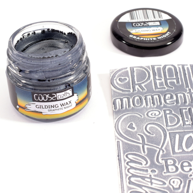 COOSA Crafts - Gilding Wax - Graphite