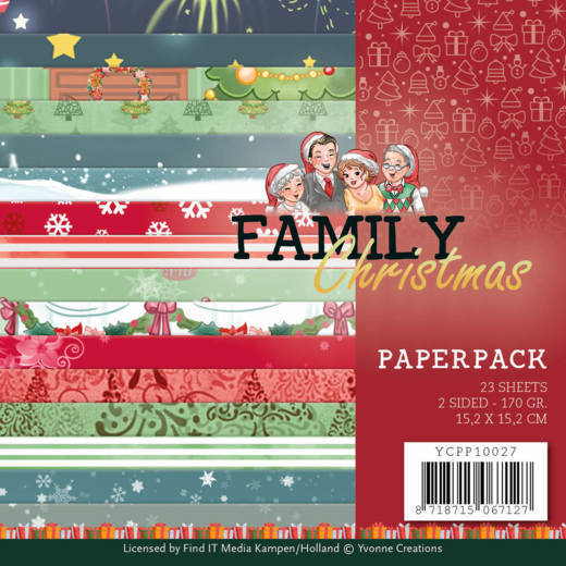 Paperpack- Yvonne Creations - Family Christmas