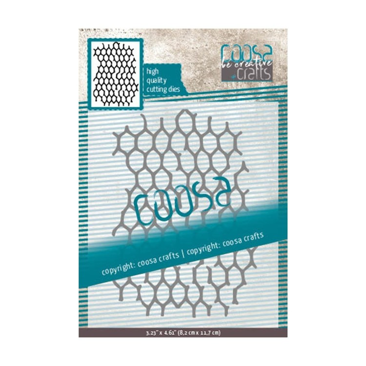Coosa Crafts- Cutting Die - Chicken Wire