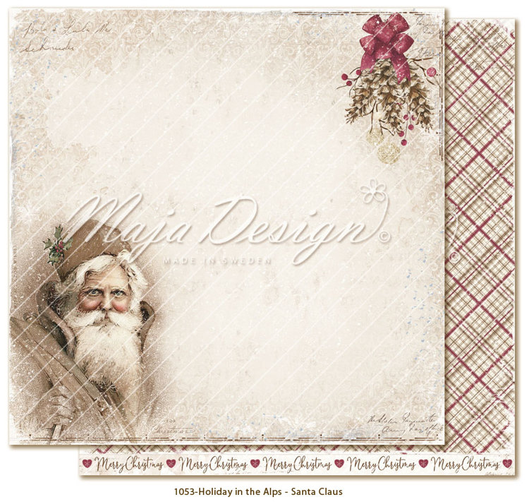 Maja Design - Holiday in the Alps - Santa Claus
