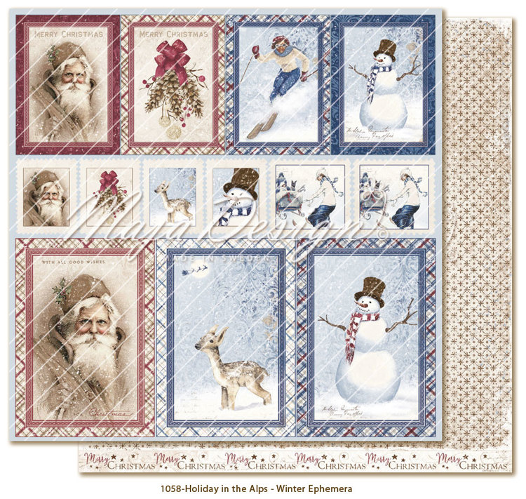 Maja Design - Holiday in the Alps - Winter Ephemera