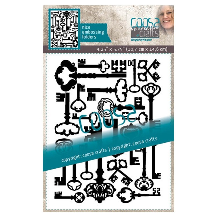 Coosa Crafts- Embossing Folder - Keys