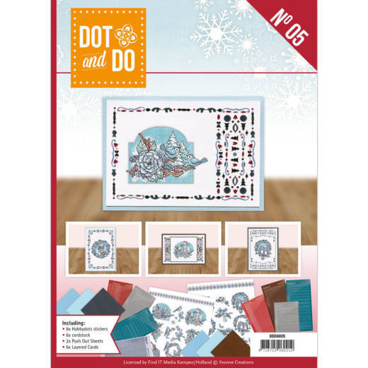 Dot and Do Book - Kerst - Nummer 5