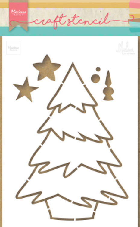 Marianne Design - Craft Stencil - Christmas Tree
