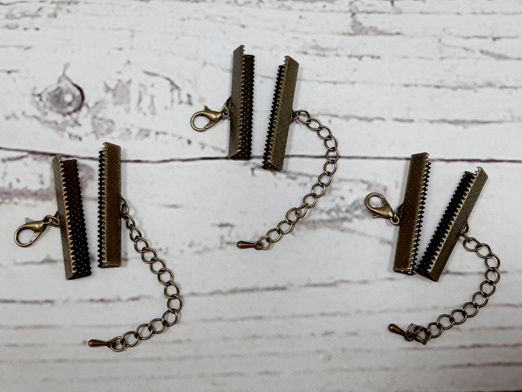 Metal Art - Knijpsluiting - 35 mm - 3 stuks
