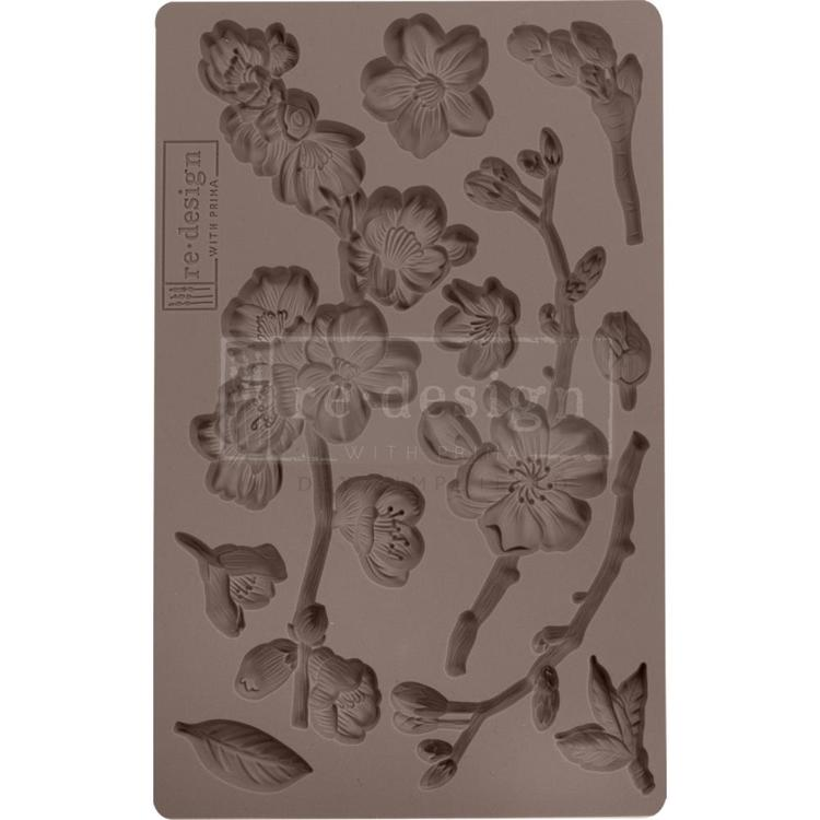 Prima Marketing - ReDesign Clay Mould - Cherry Blossoms