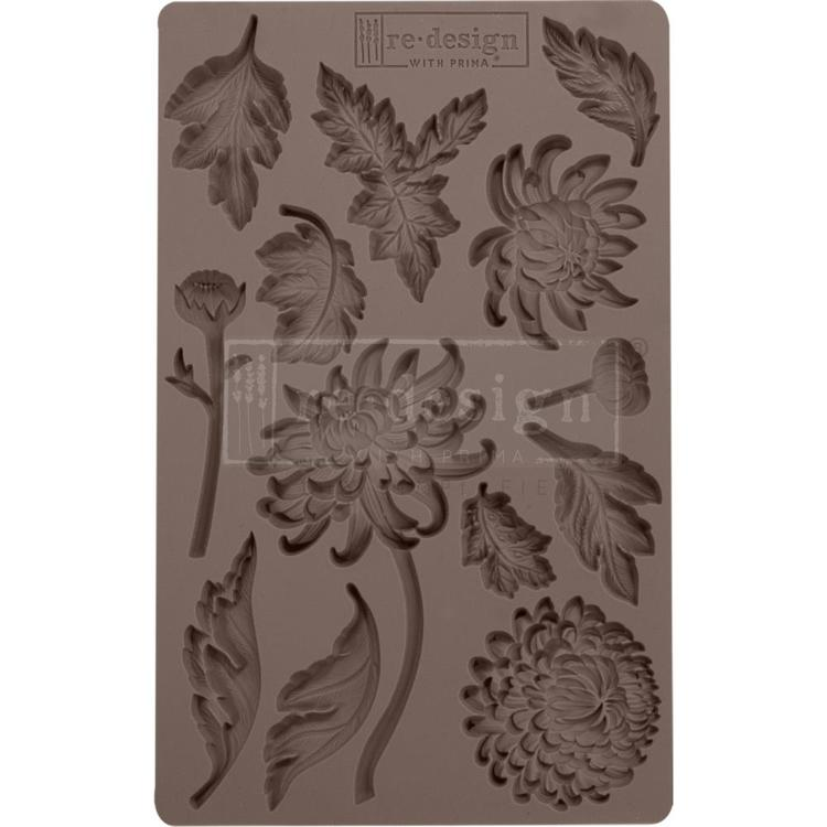 Prima Marketing - ReDesign Clay Mould - Botanist Floral