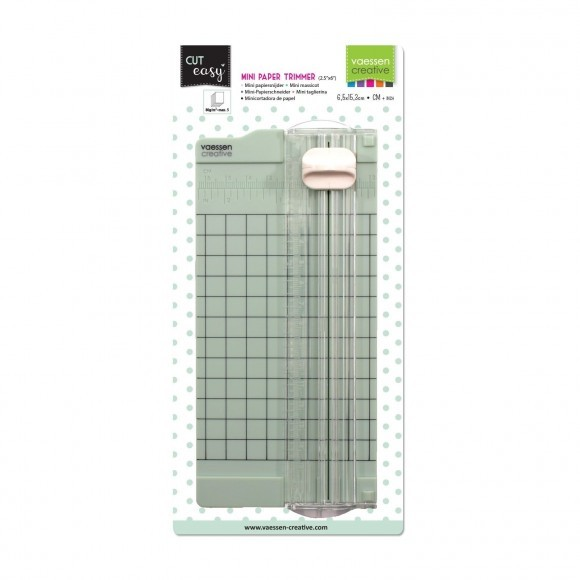 Vaessen Creative - Mini Paper Trimmer - 6,5x15,3cm - MINT
