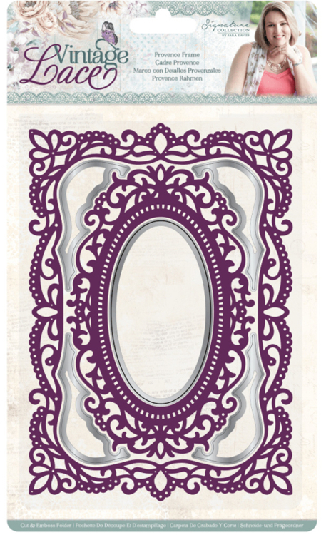 Crafter's Companion - Vintage Lace Collection - Cut & Embosfolder - Provence Frame