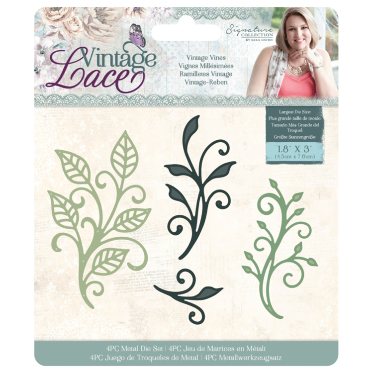 Crafter's Companion - Vintage Lace Collection - Stansmal Vintage Vines