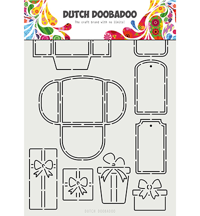 Dutch Doobadoo - Dutch Mask Art - Labels, Tags & Presents