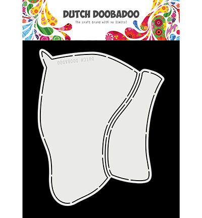 Dutch Doobadoo - Dutch Card Art - Sinterklaas / Jute zak