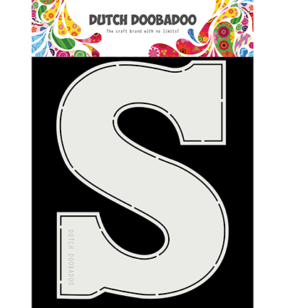 Dutch Doobadoo - Dutch Card Art - Sinterklaas Chocoladeletter S