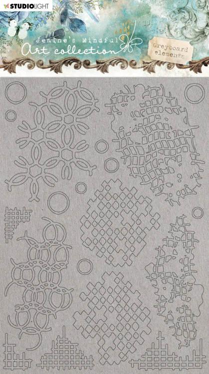 PRE-ORDER 1 - Studio Light - Jenine's Mindful Art Collection - Grayboard Art Grunge