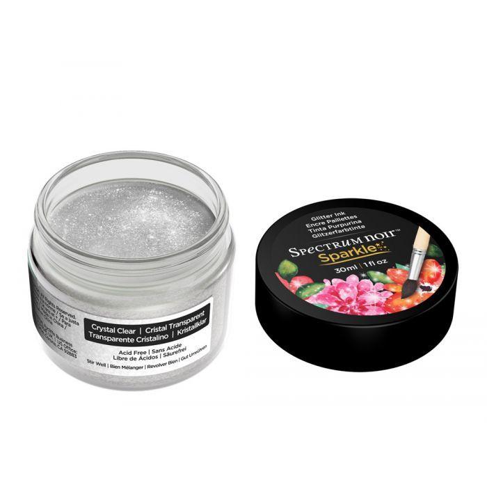 Spectrum Noir - Sparkle - Liquid Ink - 30 ml - Crystal Clear