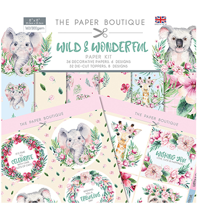 Creative Expressions - Paper kit - Wild & Wonderfull