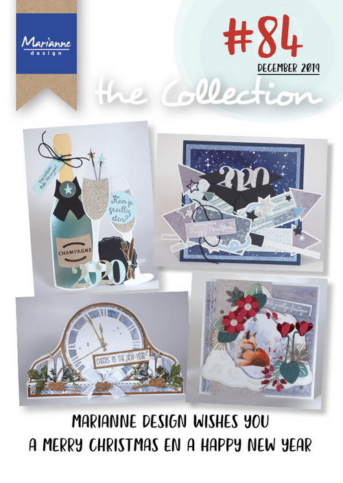Marianne Design - Tijdschrift - The Collection #84