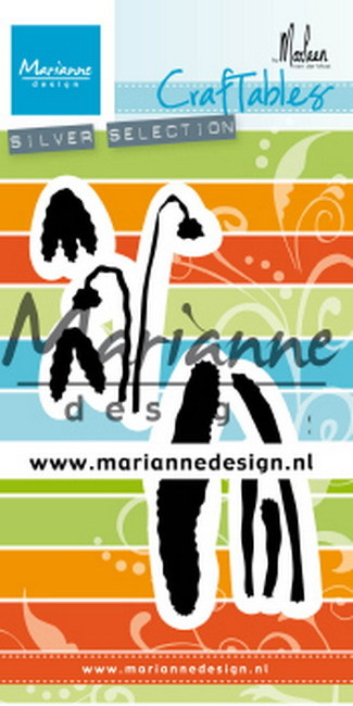 Marianne Design - Craftable - Sneeuwklokje by Marleen