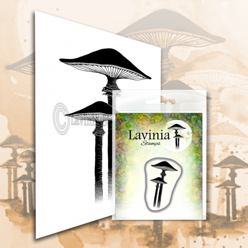 PRE ORDER 3 - Lavinia Stamps - Meadow Mushroom - Miniature