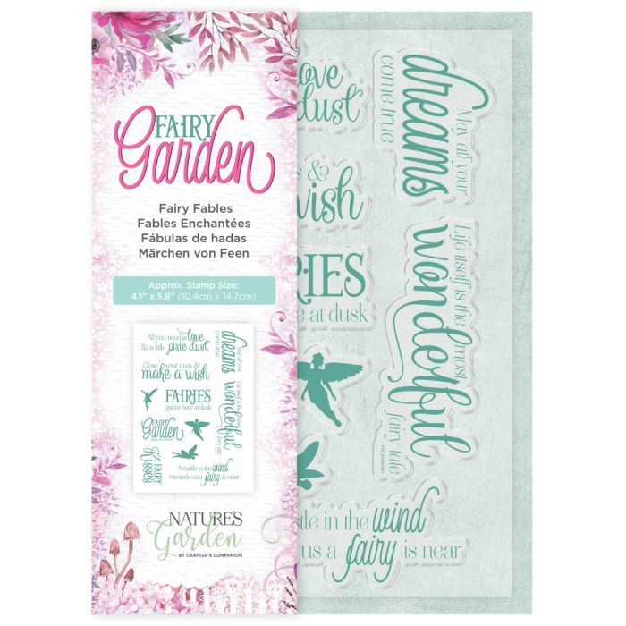 Crafter's Companion - Fairy Garden - Clearstamp - Fairy Fables