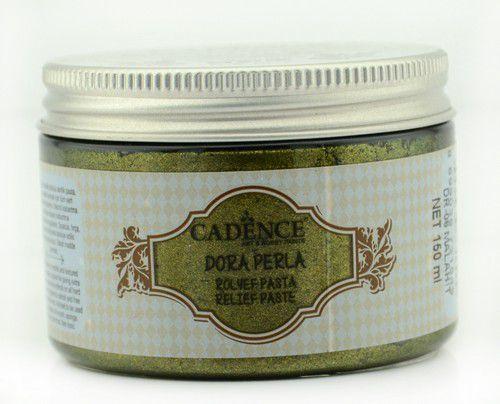 Cadence - Dora Perla Metallic Relief Pasta - Malachiet Groen