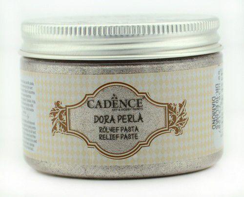 Cadence - Dora Perla Metallic Relief Pasta - Diamant Roze